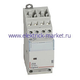 Legrand CX3 Контактор 230V 2НО+2НЗ 25А