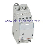 Legrand CX3 Контактор 24V 2НО+2НЗ 25А
