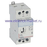 Legrand CX3 Контактор 24V 2НО 63А с руч.уп.