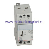 Legrand CX3 Контактор 230V 2НО 63А с руч.уп.